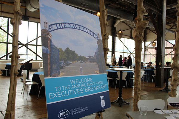 Welcome to the 8th annual Navy Yard Executives' Breakfast!